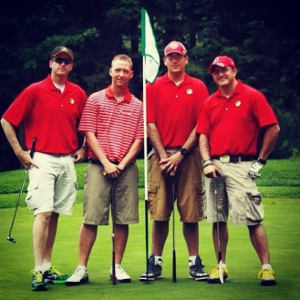 Annual Golf Tournament Attended by 1-71 Cav B Troop Soldiers