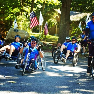 Soldier Ride Event with Wounded Warrior Project